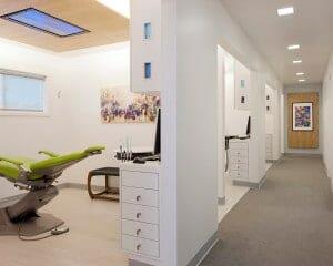 magnolia family dentistry hallway
