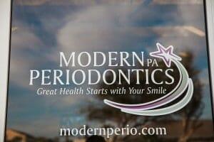 Modern Periodontics front door