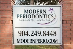 Modern Periodontics outside sign